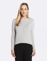 Deshabille Anise Sweater Grey Marle