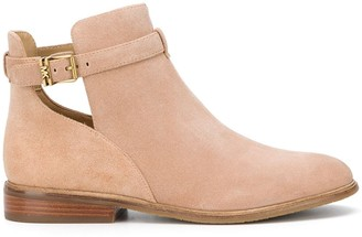MICHAEL Michael Kors Cut-Out Ankle Boots
