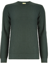 John Lewis & Co. Made In Italy Moss Cotton Crew Neck Jumper