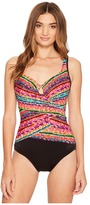 Miraclesuit Night Lights Layered Escape One-Piece Women's Swimsuits One Piece