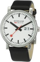 Mondaine Men's A627.30303.11SBB Big Size Leather Band Watch