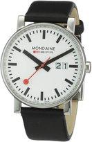 Mondaine Men's A627.30303.11SBB Big Size Leather Band Watch