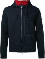 Emporio Armani boxy zip hoodie - men - Modal - S