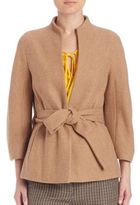 Escada Cashmere Belted Jacket