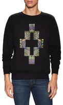 Marcelo Burlon County of Milan Multicolored Graphic Sweatshirt