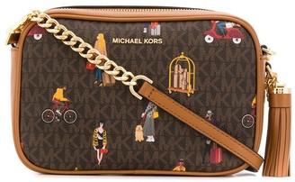 MICHAEL Michael Kors monogram print camera bag