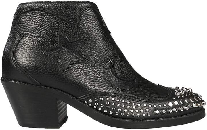 Alexander McQueen Solstice Zip Boots