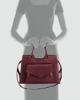 Proenza Schouler PS13 Small Satchel Bag, Wine