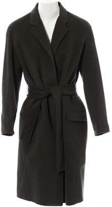 Hotel Particulier Grey Wool Coats