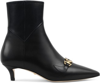 Gucci Zumi leather ankle boot