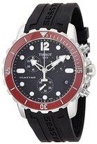 Tissot Men's T0664171705701 Seastar Analog Display Swiss Quartz Black Watch
