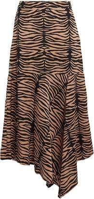 Munthe Key Asymmetric Zebra Skirt