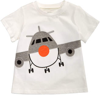 First Impressions Baby Boys Airplane-Print Cotton T-Shirt