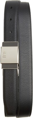 Dunhill Plate Buckle Reversible Leather Belt