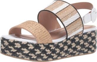 Chinese Laundry Women's Zuzu Espadrille Wedge Sandal Natural/tan 9.5 M US
