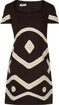 Moschino Cheap & Chic Moschino Cheap and Chic Appliquéd cotton dress