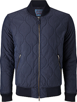 Levi's Thermore Quilted Bomber Jacket, Nightwatch Blue