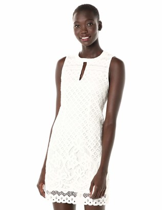 MinkPink Women's Tranquility Backless Lace Dress with Key Hole