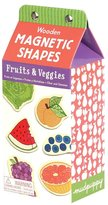 Mudpuppy Fruits/Veg Wooden Magnetic Shapes