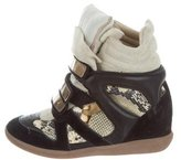 Etoile Isabel Marant Beckett Wedge Sneakers