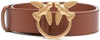 Pinko Brown Leather Belt