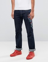 Love Moschino Dragon Slim Fit Jeans