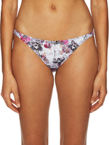 Onia Ashley Skinny Floral Print Bikini Bottom