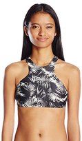 Billabong Women's Island Time Reversible Hi Neck Bikini Top
