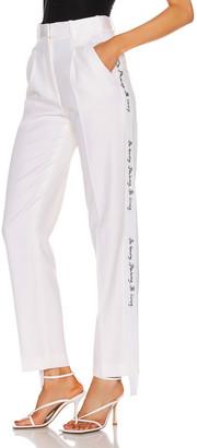 Stella McCartney Tailored Pant in Ivory   FWRD