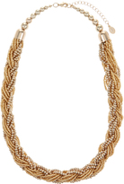 Accessorize Plaited Beaded Collar Necklace
