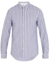 Acne Studios Isherwood Striped Cotton Shirt