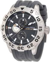 Nautica Men's BFD 100 Multi N15609G Resin Quartz Watch with Dial