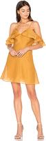 Keepsake Lost Lover Mini Dress in Tan. - size L (also in )
