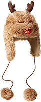 Collection XIIX Women's Reindeer Ugly Christmas Trapper Hat