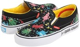 Vans Kids - Yo Gabba Gabba Classic Slip-On (Little Kid/Big Kid) ((Yo Gabba Gabba) Black/Aquarius) - Footwear