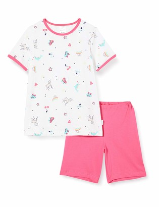 Schiesser Girl's World Md Schlafanzug Kurz Pyjama Set