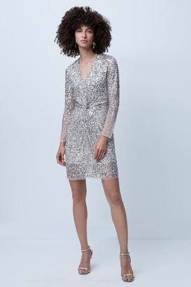 French Connenction Emille Sparkle Short Dress