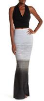 Norma Kamali Ombre Maxi Skirt