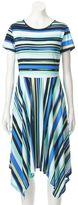 Elle Women's ELLETM Mixed Stripe Fit & Flare Dress