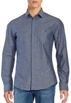 HUGO BOSS Slim Fit Textured Sportshirt
