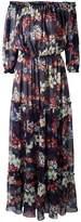 MSGM off-the-shoulder long dress