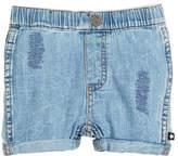 Molo Severin Vintage Denim Shorts, Size 6-24 Months