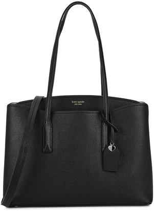 Kate Spade Margaux Black Leather Tote