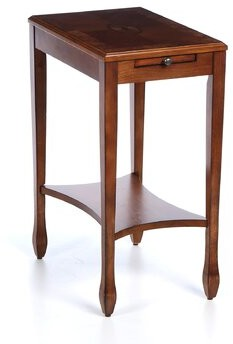 Bulwell End Table with Storage Charlton Home Color: Plantation Cherry