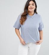 Junarose Short Sleeve Striped Shirt