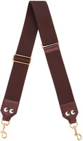 Anya Hindmarch eyes shoulder strap - women - Cotton/Leather - One Size