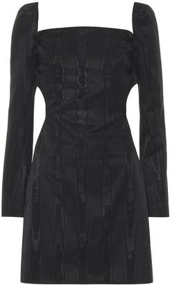 Ellery Paalen cotton-blend moire minidress