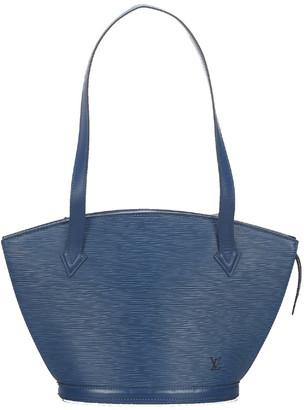 Louis Vuitton Blue Epi Leather Saint Jacques PM Long Strap Bag