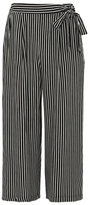George Striped Cropped Culotte Trousers