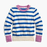 J.Crew Girls' striped sweater